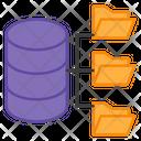 Database Network Database Transfer Database Connections Icon