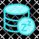 Database on Sleep Icon