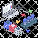 Database Processing Icon