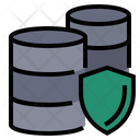Database Protection Secure Database Server Protection Icon