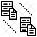 Database Replication Data Icon