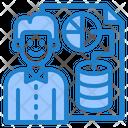 Database Report Server Report Report Icon