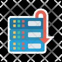 Database Rollback Icon