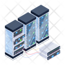 Server Hosting Database Room Danabanks Icon