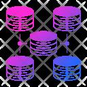 Database Scalability Icon