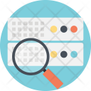 Database Search Engine Icon