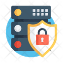 Database Security Database Protection Server Security Icon