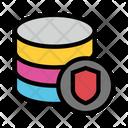 Database Shield Storage Icon