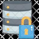 Database Security Error Server Security Warning Database Lock Icon