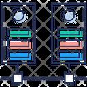 Database Server Computer Server Data Rack Icon