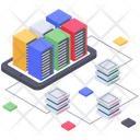 Database Server Database Storage Database Hosting Icon