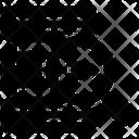 Database Server Analyzer Database Monitoring Datacenter Monitoring Icon