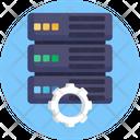 Database Setting Database Storage Icon