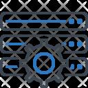 Database Settings Storage Icon