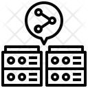 Database Share Icon