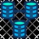 Big Data Database Online Data Icon