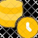 Database Time Icon