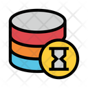 Timer Database Hourglass Icon