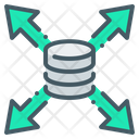 Arrows Base Data Icon