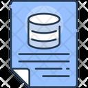 Databse Status Report Icon