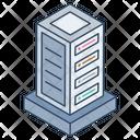Datacenter Big Data Database Icon