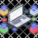 Datacenter Infrastructure Datacenter Data Storage Icon