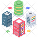 Datacenter Infrastructure Icon