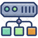 Datacenter Network Icon