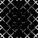 Datacenter Network Icon