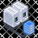 Databank Server Room Datacenter Network Icon