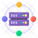 Server Network Datacenter Network Server Connection Icon
