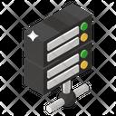 Dataserver Server Hosting Server Computing Icon