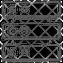 Network Hub Network Server Dataserver Icon
