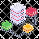 Servers Network Shared Servers Dataserver Network Icon