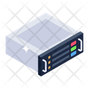 Dataserver Rack Database Datacenter Icon