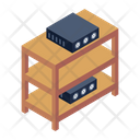 Dataserver Dataserver Racks Server Shelves Icon