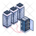 Server Hosting Dataserver Room Servers Icon