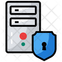 Data Protection Dataserver Security Database Protection Icon