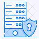 Dataserver Security Database Security Secure Server Icon