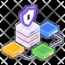 Database Safety Dataserver Security Data Safety Icon
