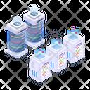 Data Network Data Hosting Dataserver Technology Icon