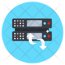 Dataserver Sync Dataserver Update Server Transformation Icon