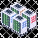 Databanks Data Centers Dataservers Icon