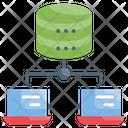 Dataset Database Network Datacenter Icon