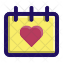 Date Love Day Icon