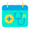 Calendar Appointment Treatment Time Icon