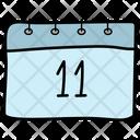 Calendar Yearbook Calendar Date Icon