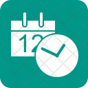 Date Time Schedule Icon