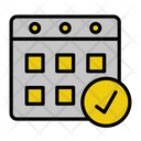 Calendar Date Appointment Icon