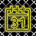 Date Calendar Day Icon